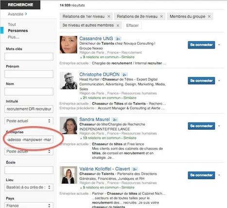 Quels sont les 5 plus gros cabinets de recrutement présents sur Linkedin ? - #rmsnews | Boostez-carrière-avec-linkedin | Scoop.it