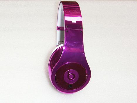 Eye-catching Monster Beats By Dre Studio Electroplating Headphones Peach_hellobeatsdreseller.com | Beats By Dre Electroplating | Scoop.it