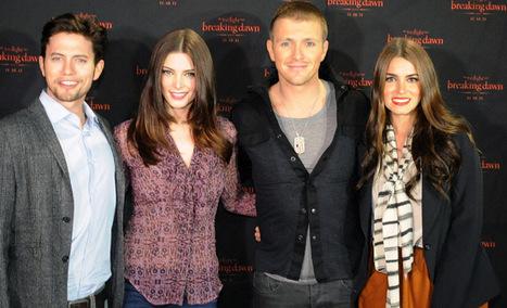 Ashley Greene, Jackson Rathbone Kick Off 'Breaking Dawn' Concert Tour In Atlanta - MTV.com | The Twilight Saga | Scoop.it