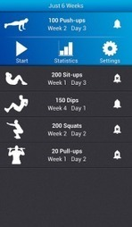Just 6 Weeks App Review : Build Body In Few Weeks | Android and iOS Apps | Scoop.it