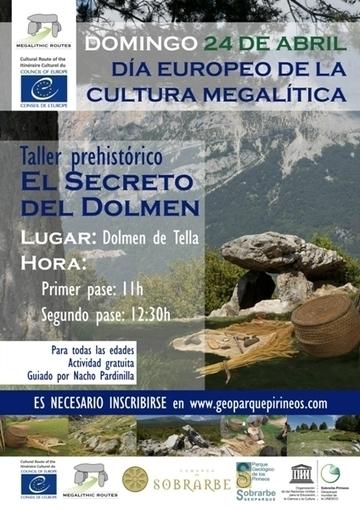 Journée européenne de la culture mégalithique à Tella le 24 avril   Vallée d'Aure - Pyrénées   Scoop.it