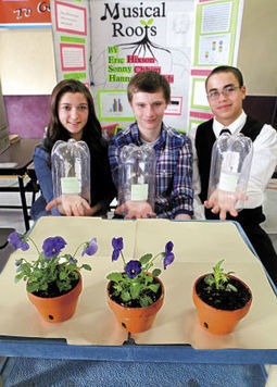 Huntington students show off their science fair flair - Longview Daily News | Fun Science Experiments For Kids | Scoop.it