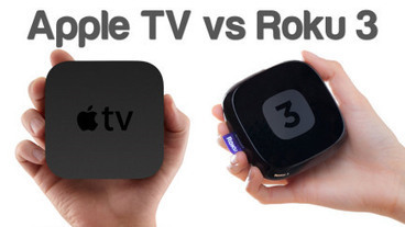 Roku3 Streaming Player VS Apple TV | online live streaming TV | Scoop.it