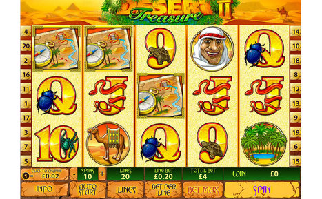 More Buried Gold with Desert Treasure 2 Slots at Genting Casino | Press Releases | Scoop.it