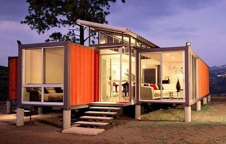 15 Surprisingly Eye Catching Homes Made From Shipping Containers | The Most Interesting Topics | Scoop.it