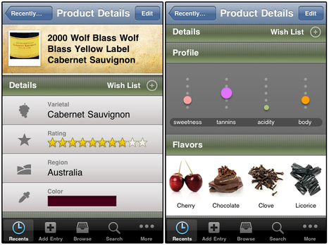 Copo de 3: Wine Notes iPhone App | Wine Lovers | Scoop.it