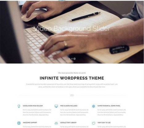 Infinite WordPress Theme | Best WordPress Themes 2016 | Best WordPress Themes 2017 | Scoop.it