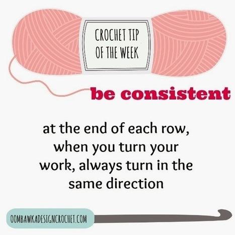 Oombawka Design *Crochet*: Crochet Tip of the Week - Be Consistent | CrochetHappy | Scoop.it