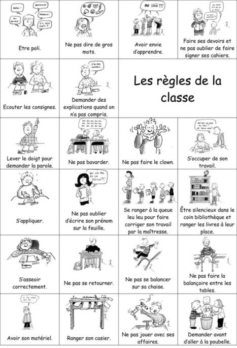 Les r gles de la classe fle enfants - Mes droits et mes devoirs a la maison ...
