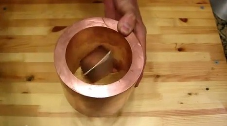What Happens When You Drop a Magnet Through a Copper Tube? | Limitless learning Universe | Scoop.it