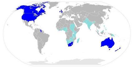 English Around the World - A Língua Inglesa no Mundo | APRENDIZADO DE LÍNGUA INGLESA | Scoop.it
