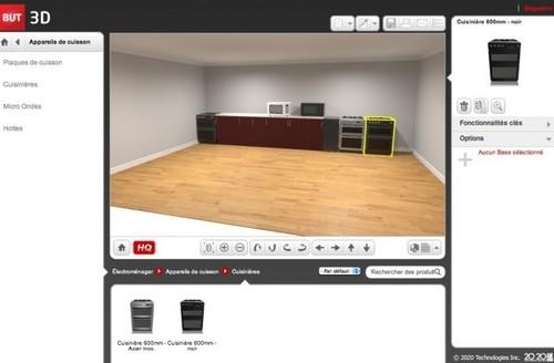 Concevez votre cuisine en 3d avec web marketing for Realiser cuisine 3d