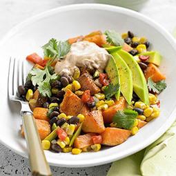 Mexican Sweet Potato-Veggie Medley | My Vegan recipes | Scoop.it