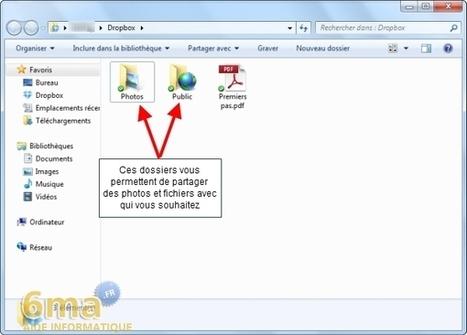 Dropbox : Synchroniser et partager des fichiers en ligne (1/2) | ACTU-RET | Scoop.it