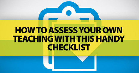 How Was Your ESL Lesson? How To Assess Your Own Teaching [Checklist] | ELT | Scoop.it