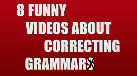 8 Funny Videos About Correcting Grammar - Crave Online | English | Scoop.it