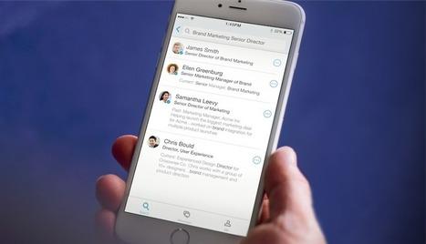 LinkedIn lance l'application LinkedIn LookUp | L'actualité des réseaux sociaux | Scoop.it