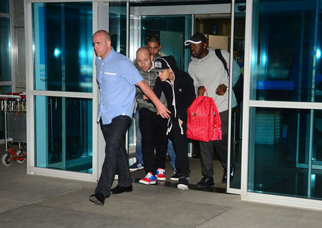 Justin Bieber Arriving in Istanbul Airport. | Beliebers Only | Scoop.it