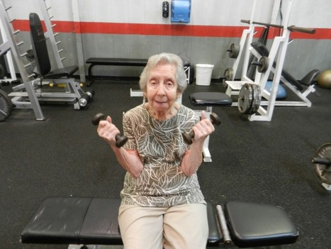You're never too old to exercise. A 98-year-old show us why. | Mark Taylor International | Scoop.it
