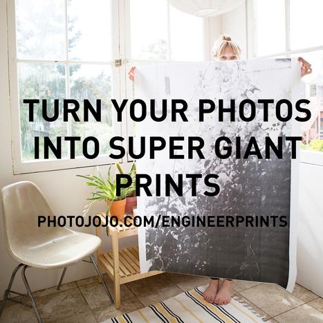 BIG PRINTS by Photojojo | Daring Gadgets, QR Codes, Apps, Tools, & Displays | Scoop.it