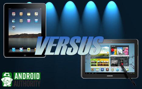 Apple iPad 4 vs Samsung Galaxy Note 10.1 | Mobile IT | Scoop.it