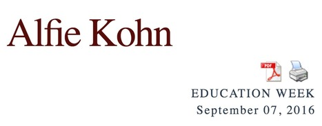 On Punishment for Bullying — and Punishment AS Bullying // Alfie Kohn | Safe Schools & Communities Resources | Scoop.it