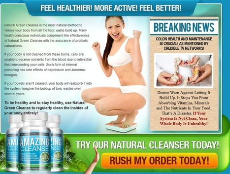Amazing Cleanse Review- Get Your Trial Pack Here | 100% Natural Weight loss | Scoop.it