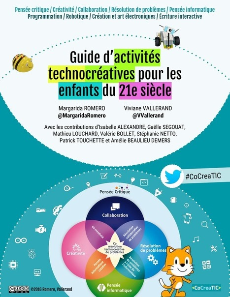 GuideV1. Guide d'activités technocréatives-Romero-Vallerand-2016.pdf | fle&didaktike | Scoop.it