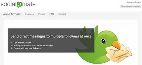 Automatisez la gestion de Twitter avec SocialOmate.com | François MAGNAN  Formateur Consultant | Scoop.it