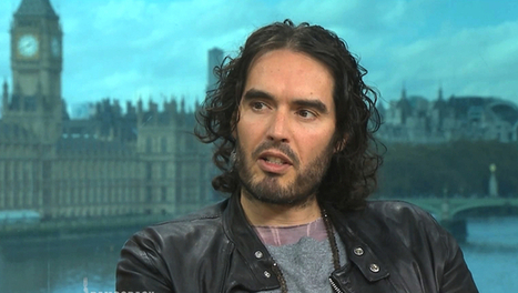 Russell Brand on Revolution, Fighting Inequality, Addiction, Militarized Policing & Noam Chomsky | Peer2Politics | Scoop.it