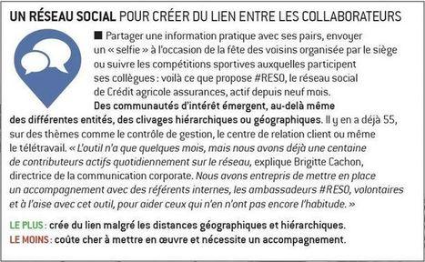 Les six bonnes pratiques de la communication interne :  le réseau social d'entreprise (1/6)   Marie Lagoute   Scoop.it