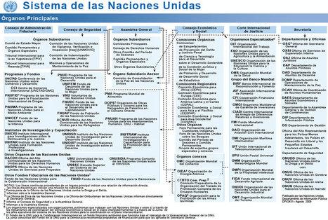 Organigrama de las Naciones Unidas | ONU, Organización de las Naciones Unidas| | Scoop.it