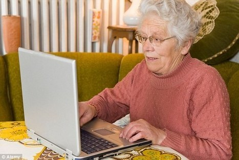 Older people should use social media to prevent decline in health, study finds - Daily Mail   SocialmediaNews   Scoop.it