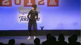 Imogen Heap Performance with Musical Gloves Demo: Full Wired Talk 2012 | Interactive Arts | Scoop.it