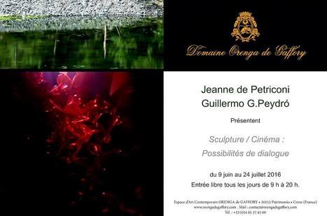 Jusqu'au 24 juillet 2016 :: exposition Jeanne de Petriconi Guillermo G.Peydró Espace d'Art contemporain Orenga de Gaffory (Patrimonio Corse)   TdF     Expositions &  Spectacles   Scoop.it