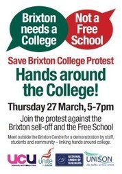 Save Lambeth College - Demonstration this Thursday | Lambeth | Scoop.it