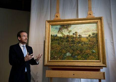 Presentan un cuadro recién descubierto de Van Gogh en Ámsterdam - Publimetro Perú | Lo que está en mi mente | Scoop.it