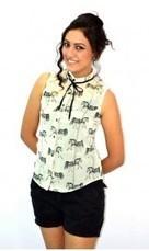 Buy Women's Resortwear India  Sleeve Casual Top   Frill Shirt   Holidae   Beach Swimwear   Scoop.it