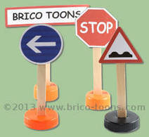 Panneaux de signalisation | Brico Toons | Scoop.it