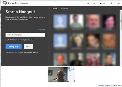 Google+ hangouts for libraries | The Slothful Cybrarian | Scoop.it
