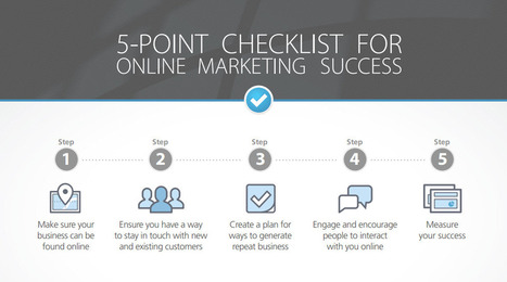 [Guide] A 5-Point Checklist for Online Marketing Success | marketing tendances | Scoop.it