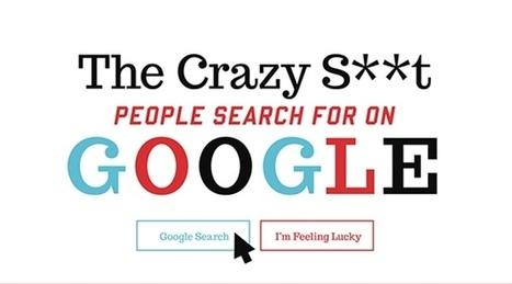 Les recherches les plus insolites de Google en une infographie | Lygier | Scoop.it