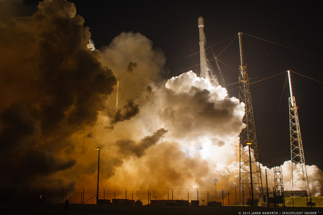 SpaceX conducts second ground landing after launch of CRS-9 Dragon to ISS | The NewSpace Daily | Scoop.it
