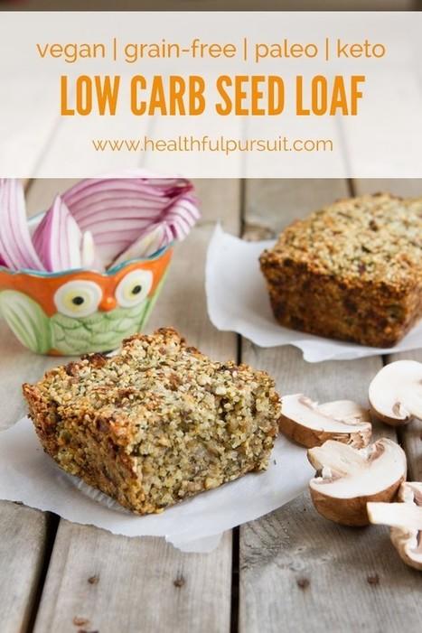 Vegan Seed Loaf | Healthful Pursuit | My Vegan recipes | Scoop.it