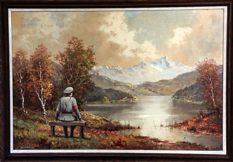Banksy's Thrift Shop Painting Sells For More Than $600,000 At Charity Auction | Music | Scoop.it