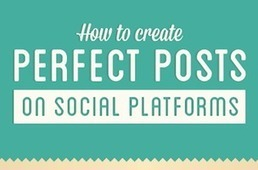 How To Create Perfect Posts on Facebook, Twitter, Pinterest And Google+ [INFOGRAPHIC] - AllTwitter | Do's and dont's on Social Media like FB,Pin interest etc | Scoop.it