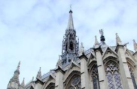 EuroTravelogue.com: La Sainte Chapelle & the Holy Chapel & a crowning jewel on Île de la Cité in Paris, France | Stained Glass | Scoop.it