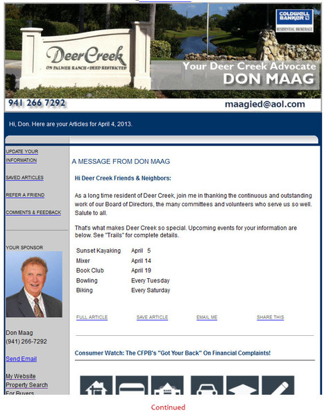 Don's Branding Getting Hyper Local | Welcome To HomeActions For Florida Moves | Scoop.it