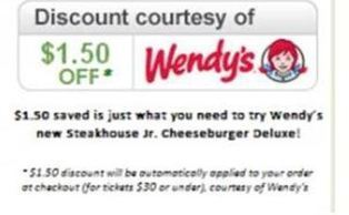 Wendy's Teams Up With StubHub for Surprise Digital Coupon Discounts   Digital-News on Scoop.it today   Scoop.it