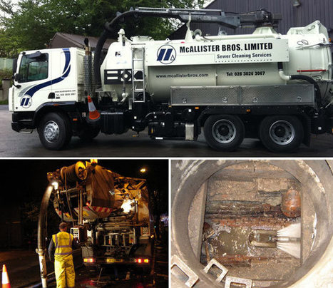 Drain Cleaning Northern Ireland from mcallisterbros.com | McAllister Bros Ltd Updates | Scoop.it